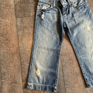 7 For All Mankind Jeans - NWT 7 For All Mankind 'Dojo' Crop Jeans